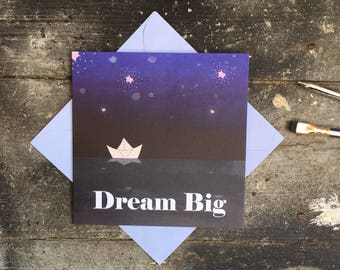 Dream Big Birthday Card for Children