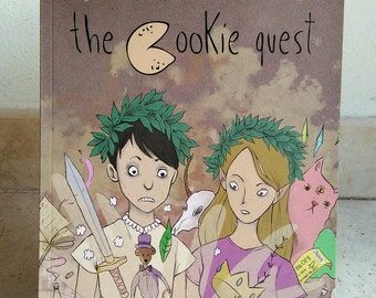 The Cookie Quest - graphic novel VERSIONE CARTACEA! | Fumetto, fumetto umoristico, comic, slice of life, geek comic, girl power, comedy.