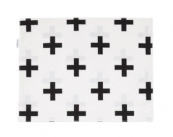Pluses placemat / cotton placemat / minimalist placemat / table decoration