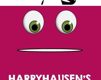 Monsters Inc- Birthday Party Food Sign- Harry Hausen