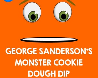 Monsters Inc- Birthday Party Food Sign- George Sanderson