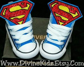 6cbb31382eb3 Boys Custom Converse- Superman Converse- Kids Converse- Boys Custom  Sneakers- Batman- Emoji- Mickey Mouse- Paw Patrol- Justice League