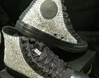 Voller Bling Hochzeit Converse Braut Sneakers Custom | Etsy