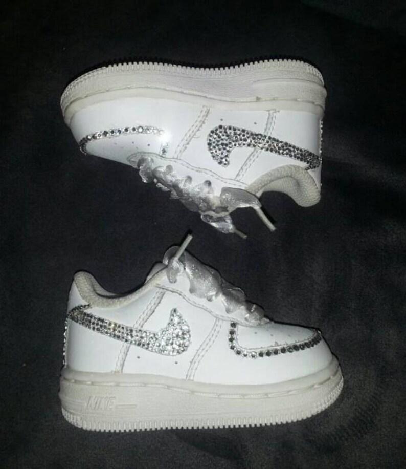 Custom Bling Air Force Ones Bling Tennis Shoes Bling    086a9d52d949