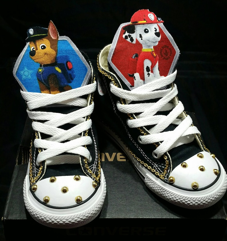 192d16f46f1fa Boys Custom Converse Sneakers- Paw Patrol Converse- Kids Converse- Boys  Custom Sneakers- Batman- Superman- Emoji- Mickey Mouse- The Hulk