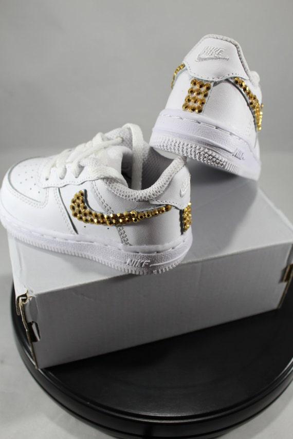 dabb13e77067 Custom Bling Air Force Ones Bling Tennis Shoes Bling
