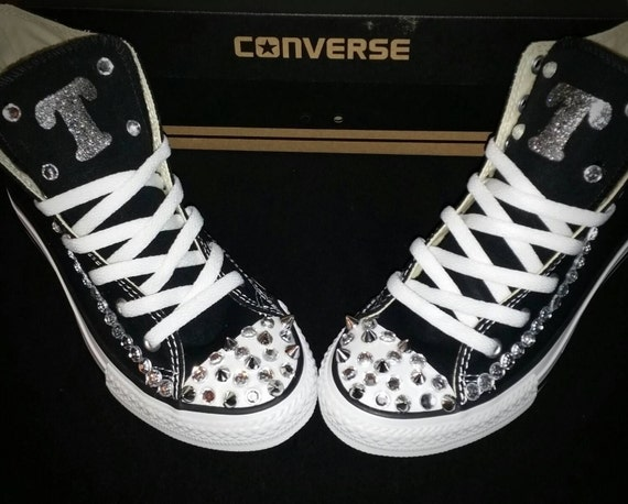 cf4ac91bb5ee Girls Custom Converse Kids Converse Bling Converse Custom
