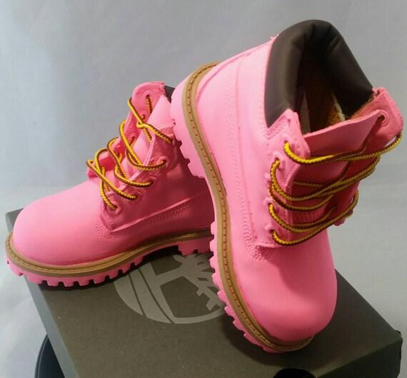 Pink Timberland Boots Custom Timberlands Mens Womens Kids  77abdd48e0