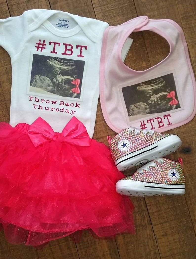 121b577f0b286 Custom Throwback Thursday Onesie Personalized Baby Onesie | Etsy