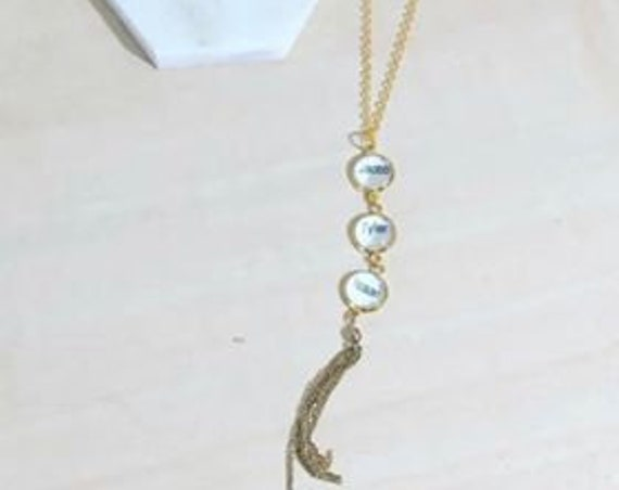 Mi Amor- Mothers Day Necklace