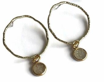 Georgie Hoop Earrings