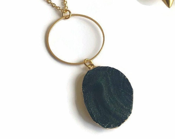 Ana Geode Necklace