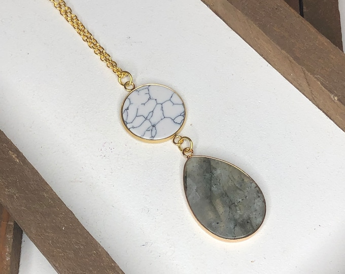 Gemma Stone Necklace