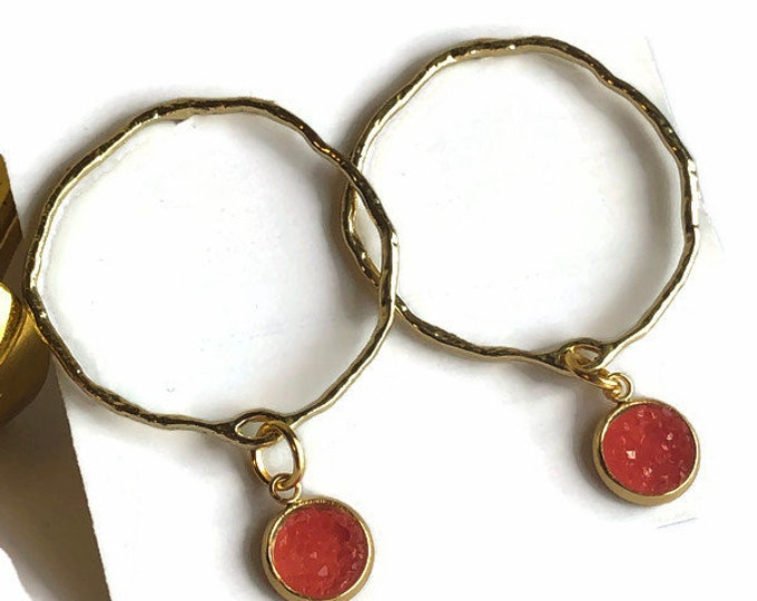 Georgie Hoop Earrings