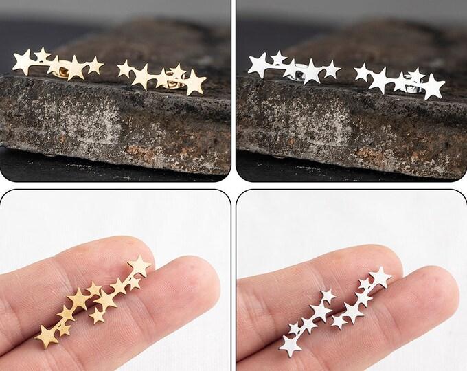 Milky Way Stainless Steel Studs