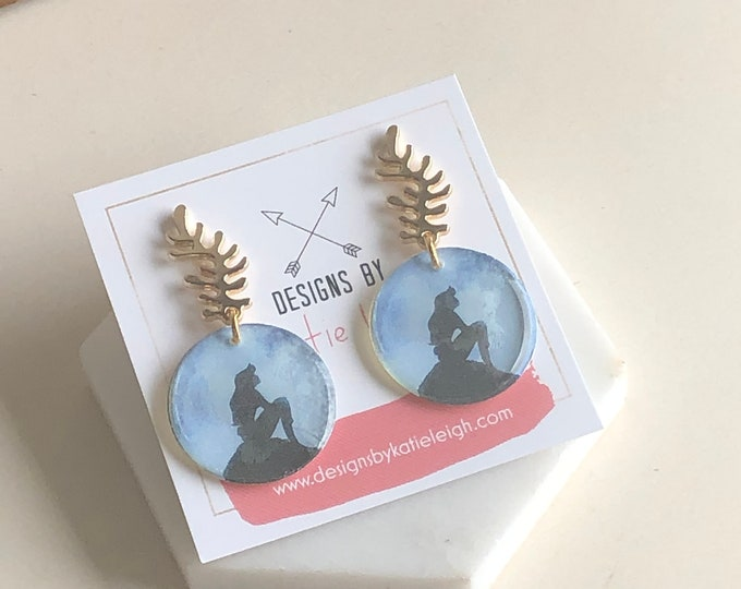 Part of Your World Dangle Earrings
