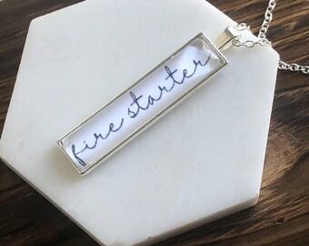Firestarter Necklace