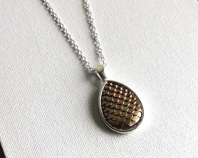 Driselda Tear Drop Necklace