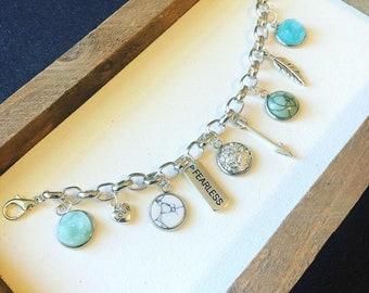 Fearless Charm Bracelet