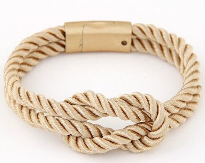 Rhianne Rope Bracelet