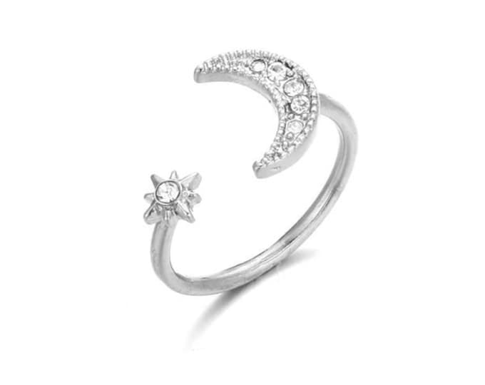 Luna Adjustable Ring