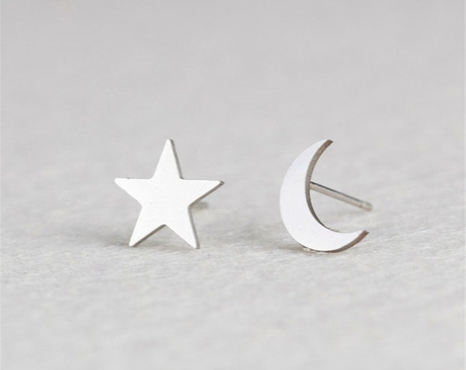 Bella Notte Stainless Steel Studs