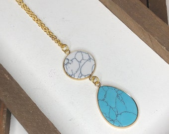 Gemma Stone Necklace