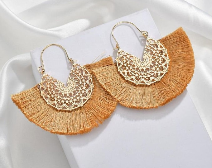 Friday Tassel Earrings