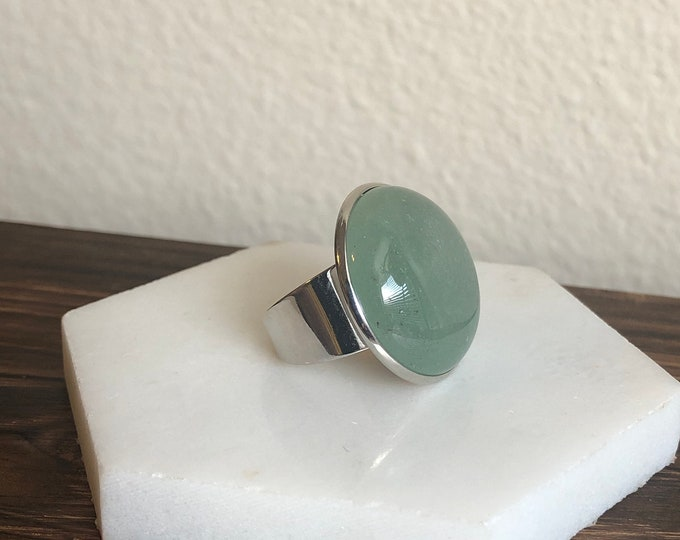 Silas Jade Quartz Ring