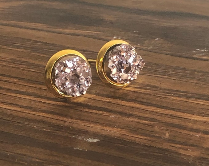 Zola Studs in Rose Gold