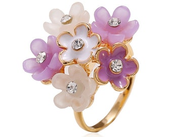 Amerin Floral Ring