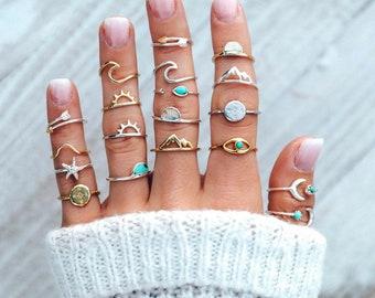 Summertime Ring Set