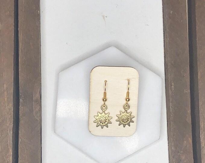Solar Drop Earrings