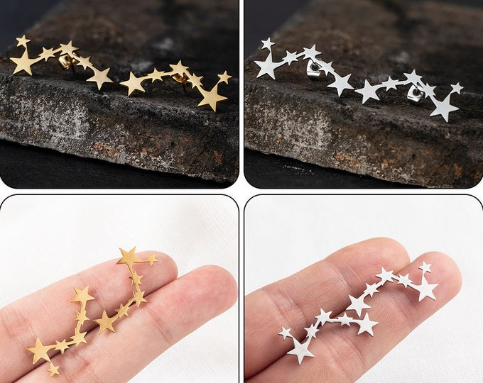 Constellations Stainless Steel Studs