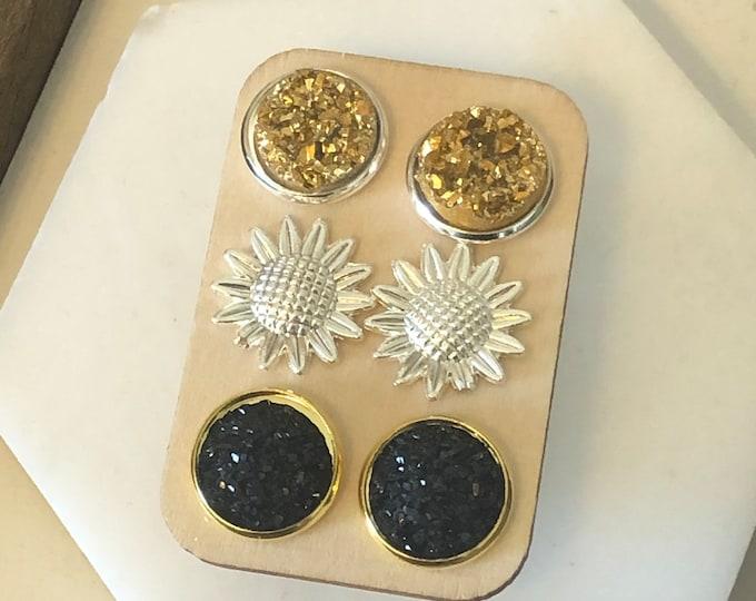 Sunflower Stud set