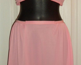 7bcc249d6bc3a Exclusive Collection - Vintage 1960 s Warners Petal Pink Matching Bra    Half Slip Set 36A - Large