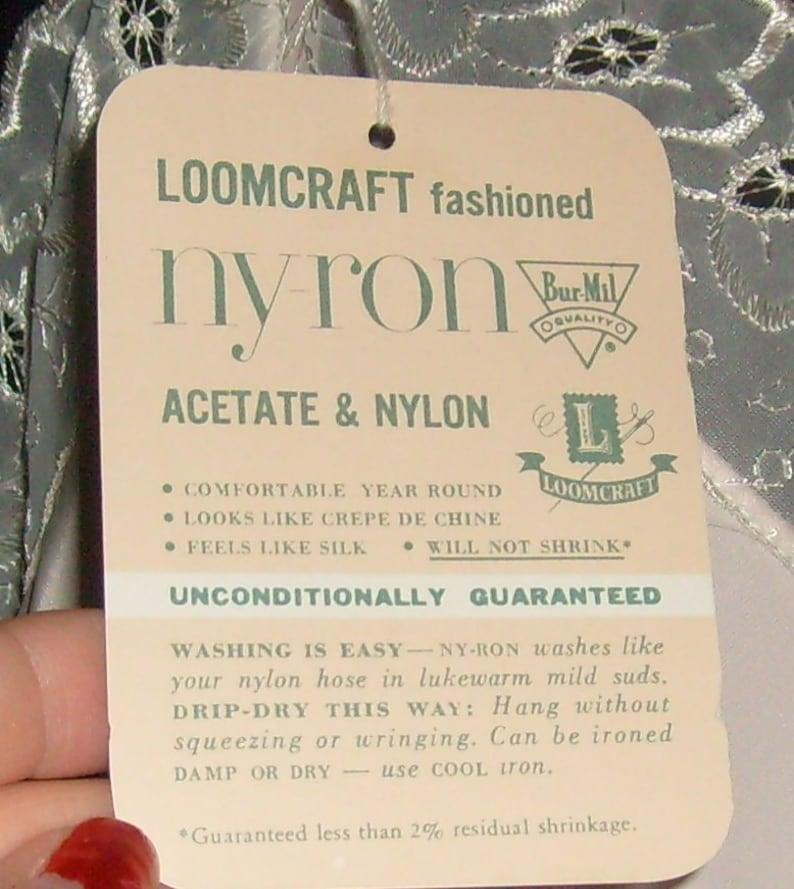 Superb Vintage Loomcraft Ny-Ron NewOld Stock Pink Full Slip 32 FREE USA SHIPPING!!