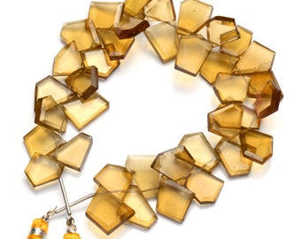 Natural Gem Smoky Quartz Faceted 3D Cube Shape Beads 9 Inch Full Strand 9MM Approx Size Box Shape Beads Super Quality