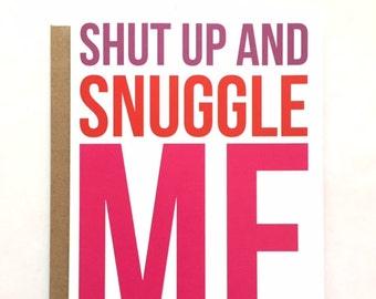 SNUGGLE - Love Card