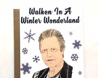 WALKEN - Christmas Card