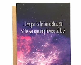 UNIVERSE - Love Card