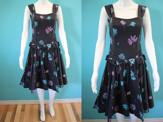 Laura Ashley Dress.......80's-Does-50's Laura Ashl