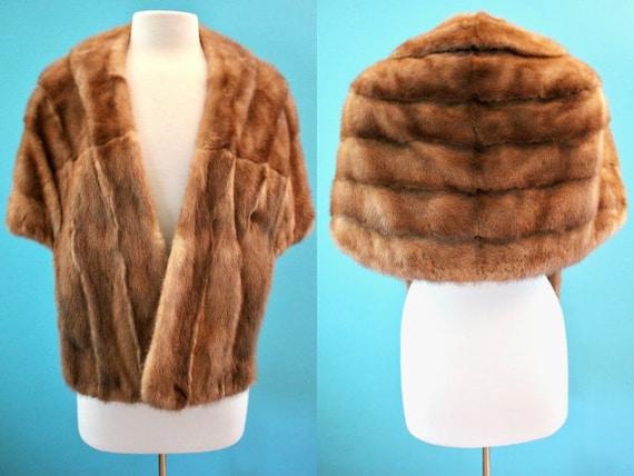 60's Fur Stole 1960's Vintage Fur Stole Fur Capele