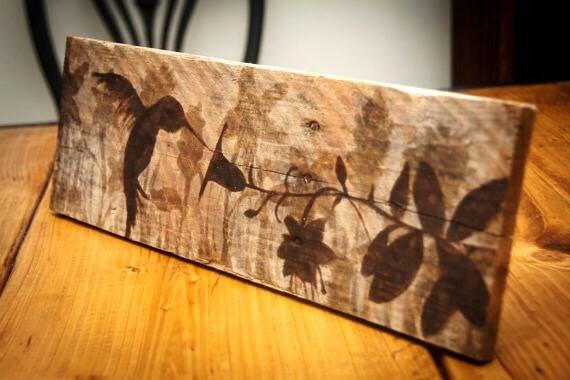 Hummingbird painting Hummingbird art Gifts for gardener | Etsy