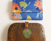 Vintage Pair of Needle Cases Sewing Etui Contents Antique 1930 39 s Sewing Cases