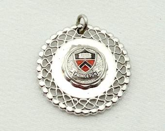 Princeton University-inspired Silver Tiger Earrings