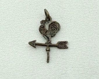 monogram Weather vane keychain initial keychain personalized keychain farm keychain initial charm weather vane charm customized