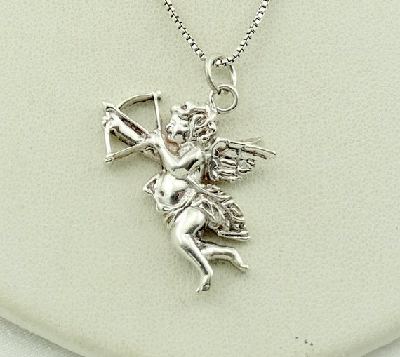 Cupid Draw Back Your Bow...Vintage Sterling Silver
