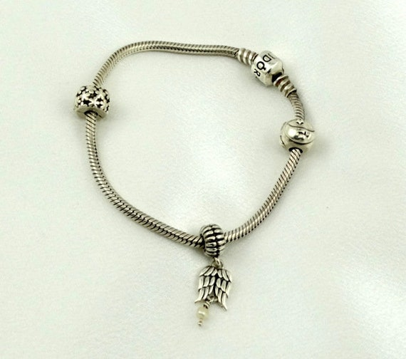 You Earned Your Angel Wings...Vintage Sterling Sil