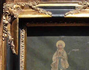 36bde2682bc4 Neo classic Framed Lourdes Holy Mary 12.9